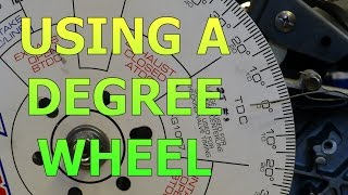 Download Setting Up A Degree Wheel And Finding True Top Dead Center (TDC) Video
