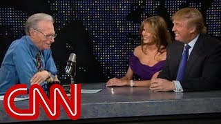 Download Donald and Melania Trump as newlyweds (2005 CNN Larry King Live full interview) Video
