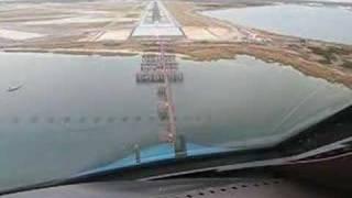 Download KLM Boeing B747-400 Landing at New York JFK Cockpit view Video