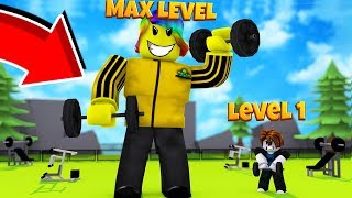 Download I Trained and Fought The STRONGEST PLAYER in The Game (Roblox Weight Lifting Simulator) Video