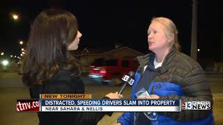 Download Homeowner: Distracted, speeding drivers repeatedly slam into property Video
