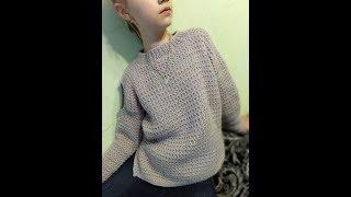 Download Модный свитер для девочки. 1 часть. Video