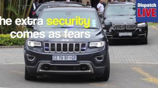 Download WATCH: President Jacob Zuma's security beefed up Video