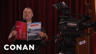 Download Tony The Cameraman Celebrates CONAN's Renewal - CONAN on TBS Video
