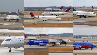 Download Plane Spotting - Hartsfield-Jackson Atlanta International Airport Video
