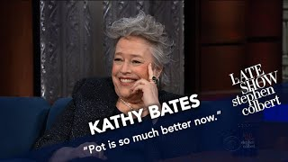 Download Kathy Bates: Never Share A Joint With A Stranger, Especially Bill Maher Video