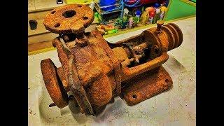 Download Restoration Ship Pump very old   Rusty ship tool restore Video
