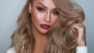 Download ROSE GOLD HOLIDAY GLAM MAKEUP | SONJDRADELUXE Video