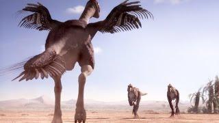 Download Gigantoraptor : le dinosaure prédateur géant - ZAPPING SAUVAGE Video