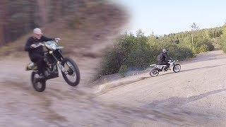 Download Suzuki, KTM EXC400 ja SX150 harjuilla ajelua Video