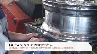 Download Wheel Repair - Cracked Rim Welding Video