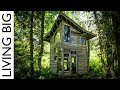 Download Forest Cabin Built From Salvaged Materials Cost Only $800! Video