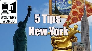 Download Visit New York - 5 Tips for Visiting New York City Video