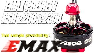 Download EMAX RSII 2206/2306 PREVIEW Video