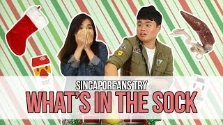 Download Singaporeans Try: What's In The Sock?   EP 80 Video