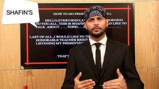 Download How To Present A Good Presentation By Shafin Ahmed | English Spoken Lesson 22 Video