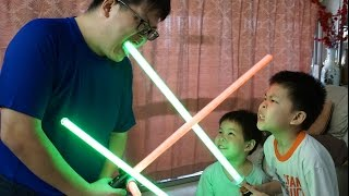 Download The One Where Daddy Fails To Review The Star Wars Yoda Force FX Lightsaber Video