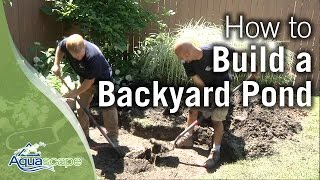 Download How To Build a Backyard Pond Video