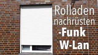 Download Rolladen Motor umrüsten auf Funk / W-lan Anleitung deutsch Somfy / Simu & LiveIn Video
