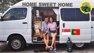 Download Young Singaporean Couple Quits the Rat Race to Travel the World Video