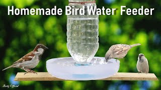 Download How To Make A Bird Water Feeder | DIY Homemade Plastic Bottle Bird Water Feeder Video