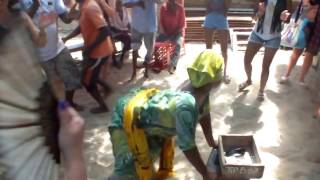 Download Dancing on island in Menai bay Zanzibar, Tanzania, march 2017 Video
