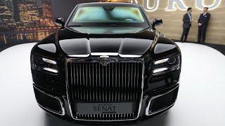 Download GENEVA 2019: Mașina lui Putin! Noul AURUS Senat - prima impresie! Video