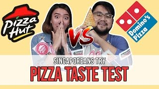 Download Singaporeans Try: Blind Pizza Taste Test | EP 95 Video