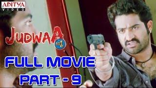Download Judwa No1 Hindi Movie Part 9/11 Jr.NTR, Nayanatara, Sheela Video