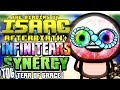 Download INFINITE TEARS SYNERGY (Parasite + Bone Tears + Fly Tears) | The Binding of Isaac: AFTERBIRTH PLUS Video