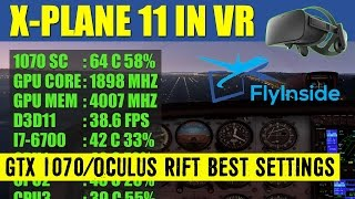 Download X Plane 11 VR FlyInside XP BEST Graphics Settings GTX 1070 Oculus Rift ✈️ Video