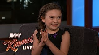 Download Seven-Year-Old Actress Brooklynn Prince on The Florida Project Video