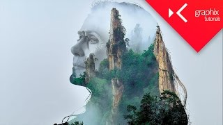 Download How To Make a Double Exposure - Adobe Photoshop CC 2015 - GraphixTV Video