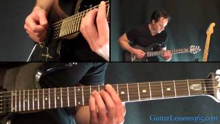 Download Seek and Destroy Guitar Lesson - Metallica - Main Riffs Video