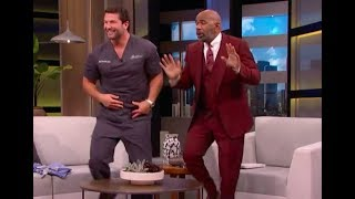 Download Dr. C interview with Steve Harvey - Viral Dentist visits with Steve Video