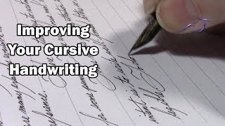 Download Improving Your Cursive Handwriting Video