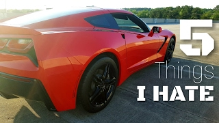 Download 5 Things I HATE About my C7 Corvette Stingray! Video