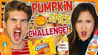 Download EXTREME PUMPKIN SPICE CHALLENGE! W/LAURDIY Video