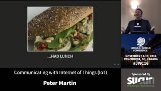 Download JWC 2016 - Communicating with Internet of Things (IoT) - Peter Martin Video