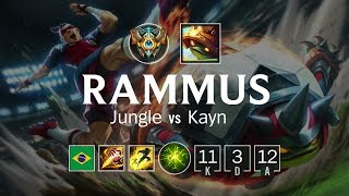 Download Rammus Jungle vs Kayn - BR Challenger Patch 8.15 Video
