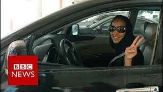 Download Saudi women rejoice at end of driving ban - BBC News Video
