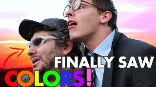 Download THESE GLASSES CURED OUR COLOR BLINDNESS! FT. iDubbbzTV Video