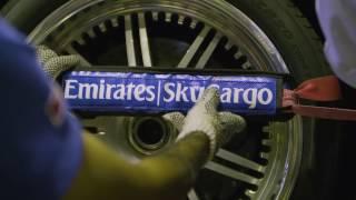 Download Pagani Supercar flies on Emirates SkyWheels | Emirates SkyCargo Video