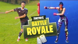 Download AMAZING FORTNITE CELEBRATIONS IN FOOTBALL (Fortnite Battle Royale) Video