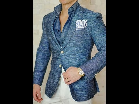 Vestir con Estilo Fashion Blazers | Men's Fashion Blazers