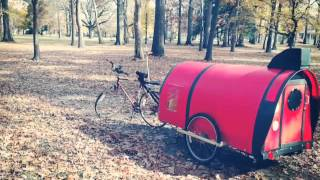 Download DIY Bicycle Camper Caravan Trailer The Rocketeer Video