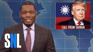 Download Weekend Update on Donald Trump's Taiwan Call - SNL Video