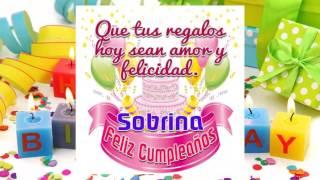 Feliz Cumpleaños Sobrina Happy Birthday Sobrina Free Download