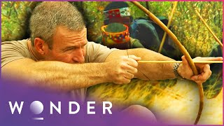 Download This Desert Tribe Crawl Into Animal Burrows To Hunt Them | Man Hunt S1 EP4 | Wonder Video