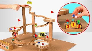 Download How to make Marble Run Machine From Cardboard Video